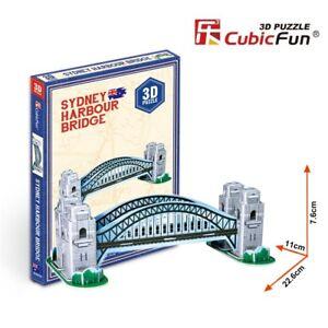 Puzzle-3D-de-EL-PUENTE-DE-LA-BAH-A-DE-S-DNEY-CubicFun-Rompecabezas-33Piezas-j299