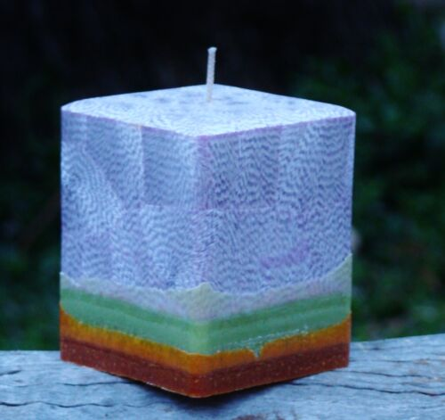 200hour PASSIONFRUIT /& PAPAYA Triple Scented NATURAL CANDLE Fruit Lovers Gift