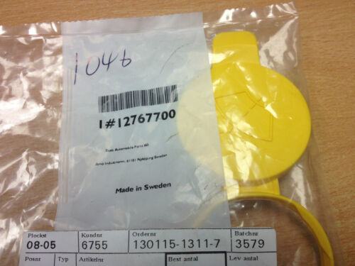 SAAB 9-3 AND 9-5 WASHER BOTTLE RESEVOIR CAP BRAND NEW GENUINE PART