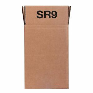 Triplast 12 x 14-Inch Plastic Mailing Postal Bag Pack of 100 Grey