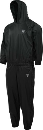 RDX Sauna Suit Sweat Suits Gym Fitness Weight Loss Hooded Slimming Tracksuit CA