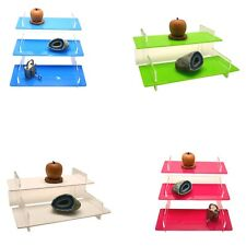 Product Display Steps Stand Retail Shelf 40 Perspex Colours 2 Amp 3 Tier