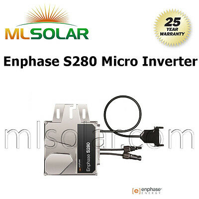 ENPHASE S280-60-LL-2-US MC4 280W S-Series 240/208VAC MICRO INVERTER