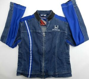 Racing Honda Veste pour Speedgear Jean Zip Femme Taille XL Up en 351JcTKulF