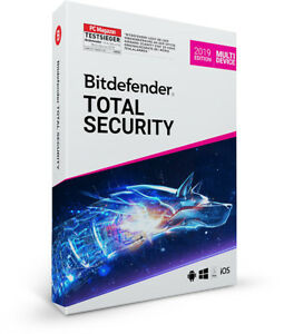 Bitdefender Total Security Multi Device 2019 - 5 Geräte & PC