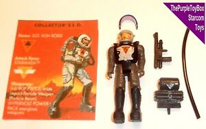 Starcom Action Figure Shadow Force Sgt Von Rodd NO VISOR