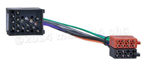 Radio Adaptador Conector radio del coche cable bmw 3er e36 e46 Compact Coupe Touring sedán