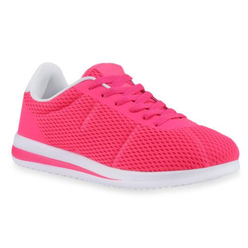 Damen Sportschuhe Runners Sneakers Laufschuhe Schnürer 817356 Schuhe