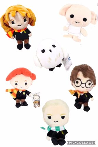 "5/"" Plush Harry Potter Characters Dolls Figures Hermoine Hedwig Ron Stuffed Toys"