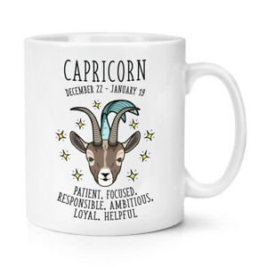 Capricorne-Horoscope-284ml-Tasse-Etoile-Signe-Astrologie-Zodiaque-Anniversaire