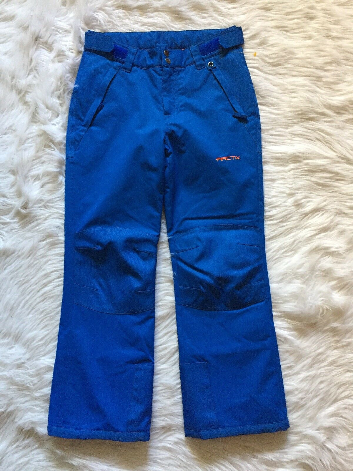 Arctix Youth Sz M 10-12 Snow Pants  with Reinforced Knees & Seat Royal bluee  is discounted