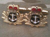 Royal Navy Military Cufflinks