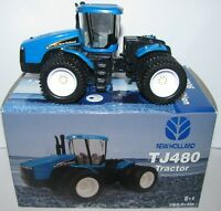 Holland Tj480 Tractor W/duals 2006 Farm Show Edition Ertl Toy 1/64 Nh