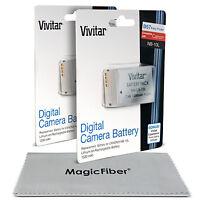 2 X Vivitar Nb-10l Battery For Canon Powershot Sx40 Sx50 Sx60 Hs G1 G3 X G15 G16 on sale