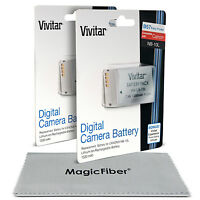 2 X Vivitar Nb-10l Battery For Canon Powershot Sx40 Sx50 Sx60 Hs G1 G3 X G15 G16 on sale