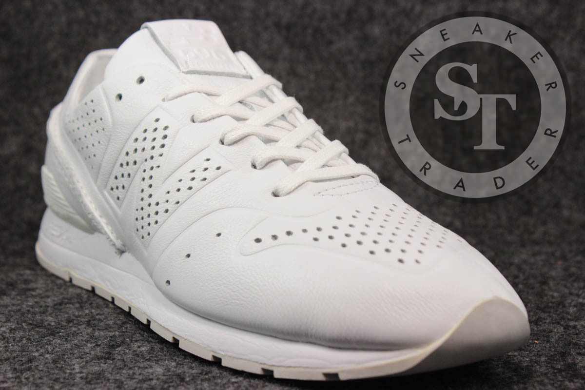 NEW BALANCE CLASSICS MRL696DT DECONSTRUCTED WHITE LEATHER DS SIZE: 10.5