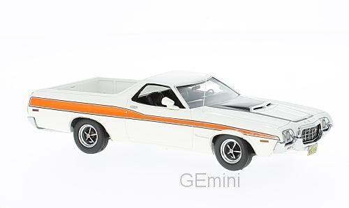 Neo 44856-ford ranchero gt white - 1972 1 43