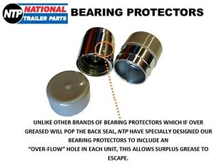 TRAILER-BEARING-BUDDIES-PAIR-BEARING-PROTECTORS-WITH-DUST-COVER-CAPS-45MM-BOAT