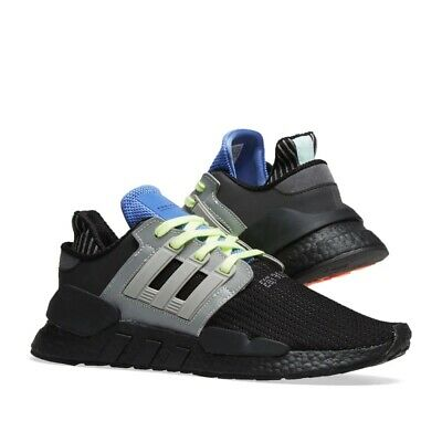 Details about Adidas Originals EQT Support 91/18 Running Shoes Boost Athletic Black-Grey Sizes
