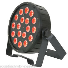 QTX PAR56 High Power 27W RGB Colour Mix LED Par-Can Light DJ Band Stage Wash DMX