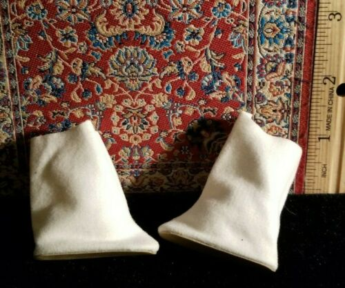 Perfect for Majoret OSS MINT Vintage White suede feeling Doll calf high boots