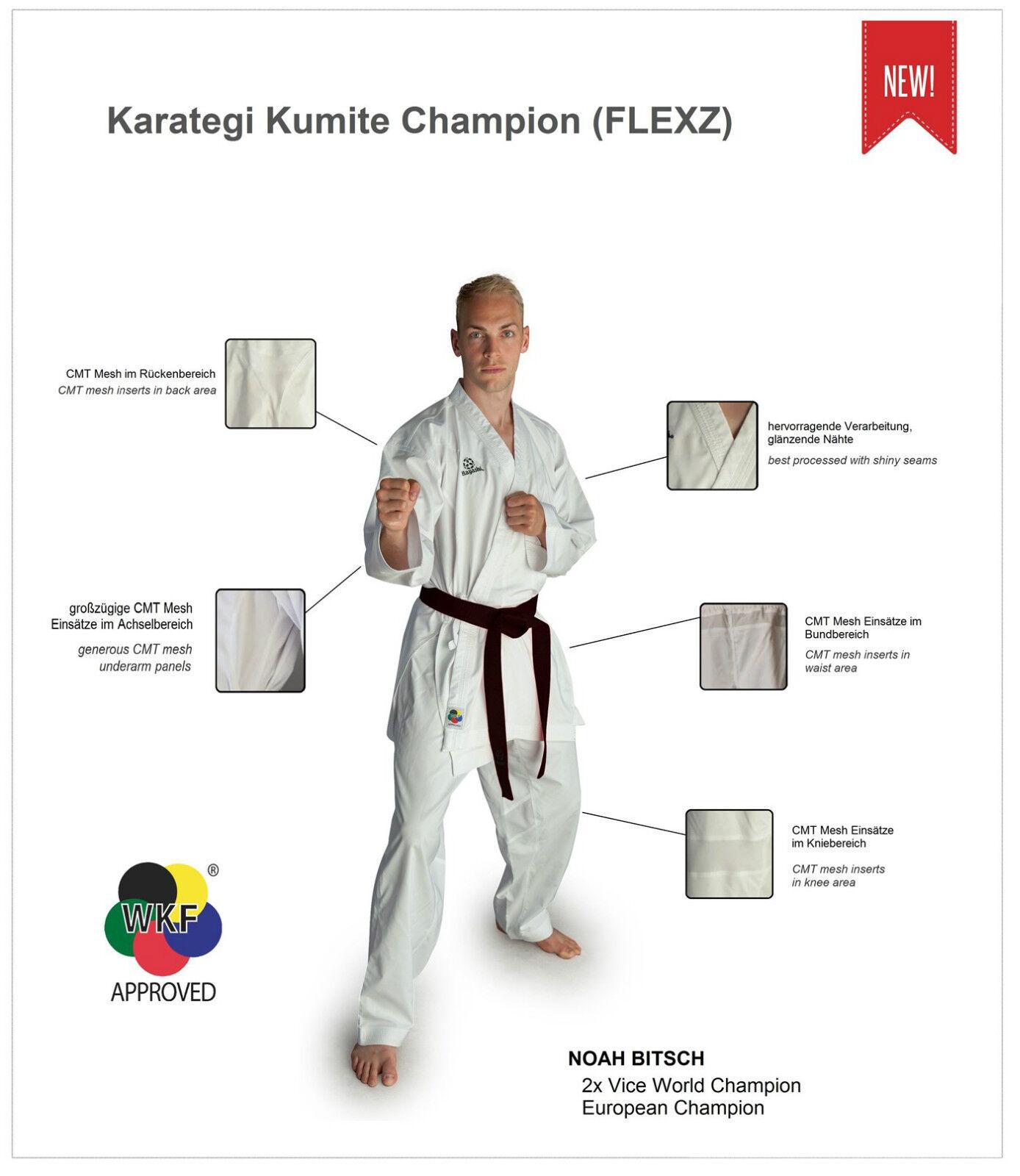 Karategi HAYASHI  Kumite Champion  FLEXZ. Größe Größe Größe  185-200. Karateanzug, 079f93