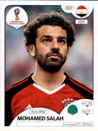 Ägypten Sticker 90 Panini WM 2018 World Cup Russia Mohamed Salah