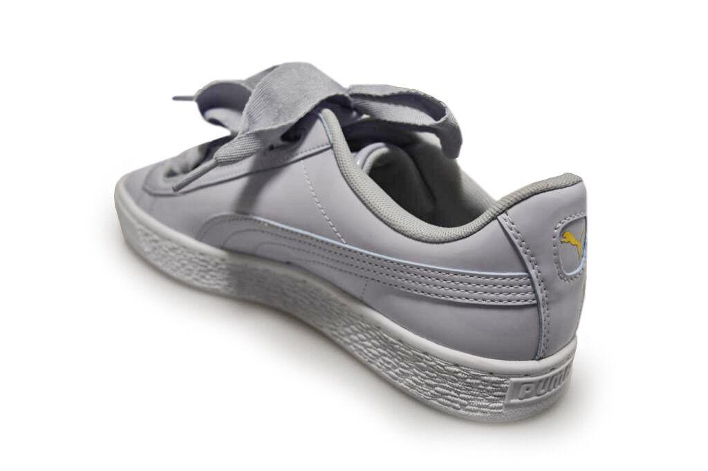 Wo Hommes Puma Basket Heart Patent Jr - Halogen 36481705 - Halogen - bleu Trainers d2373f