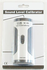 SC-05 Industrial Sound Level Meter Mic Calibrator 94 114 dB IEC 942 Class 2 NEW