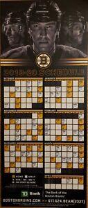 Boston Bruins 2019 2020 Magnet Schedule Ebay