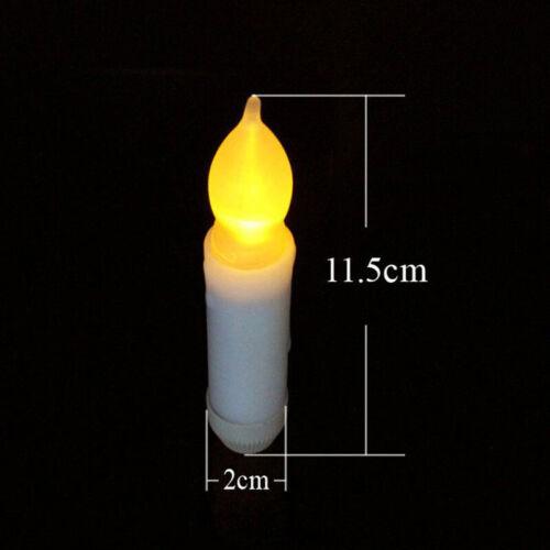 Künstlich Kerze Gelb Licht Teelicht Familie Aa Batterie Lang Flackernd LED