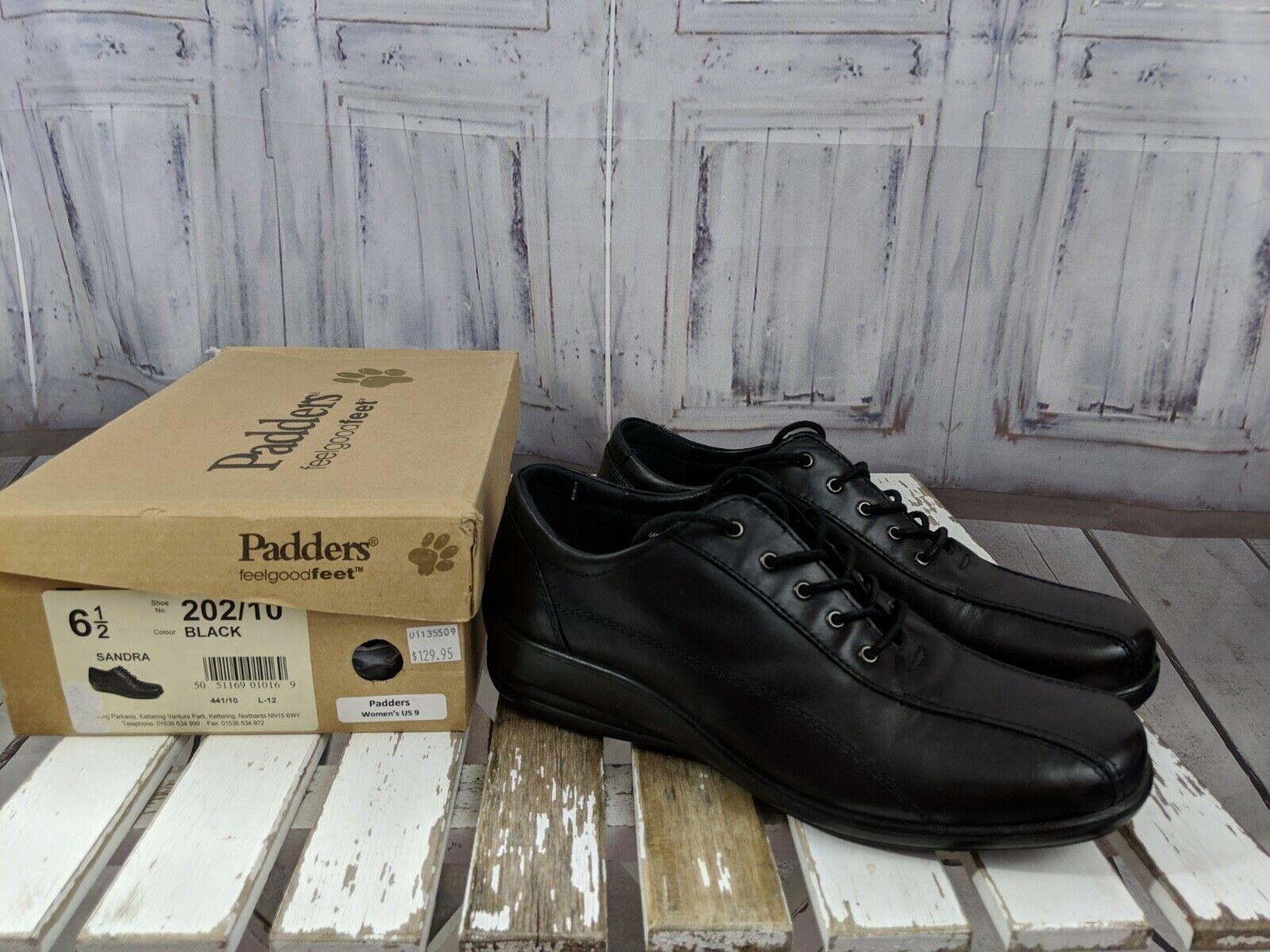Padders Nouveau Sandra 6.5 femmes chaussures à Lacets Derbies Confort Décontracté chaussures Marche