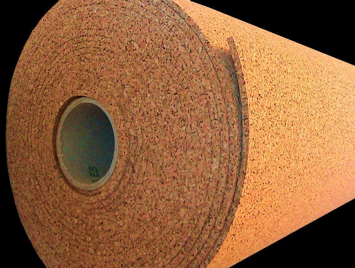 10' x 2' x 1 4   CORK ROLL sheet panel bulletin message board acoustic wall tile