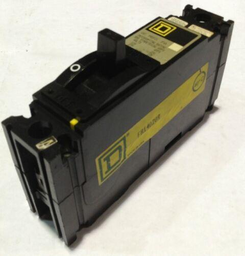 FAL14020 Square D SQD Type FAL Circuit Breaker 1 Pole 20 Amp 277V