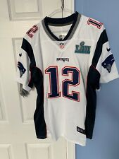 check out bcb39 4a9f0 Nike Patriots Tom Brady Super Bowl Li 51 Game Jersey for ...