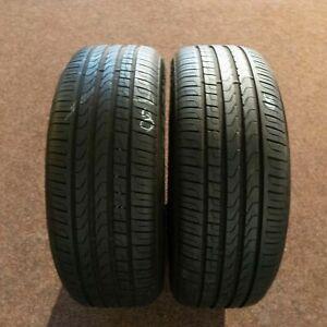 2x-PIRELLI-Scorpion-Verde-MO-235-55-r19-101-V-Dot-4217-7-Mm-Pneus