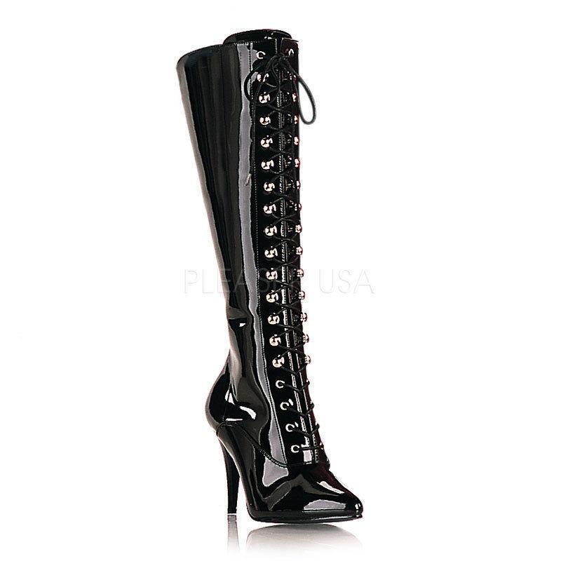 marche online vendita a basso costo VANITY - 2020 erotici Pleaser tacco tacco tacco alto schnuerstivali nero vernice taglia 36-47  sconti e altro