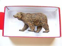 Preiser 1:25 Scale 47516 Walking Brown Bear : Animal Figure
