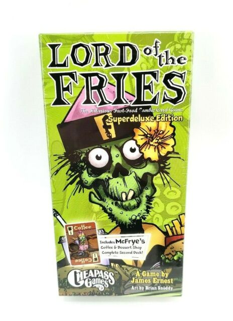 4th Ed Lord of the Fries Super Deluxe Card Game Cheapass Games