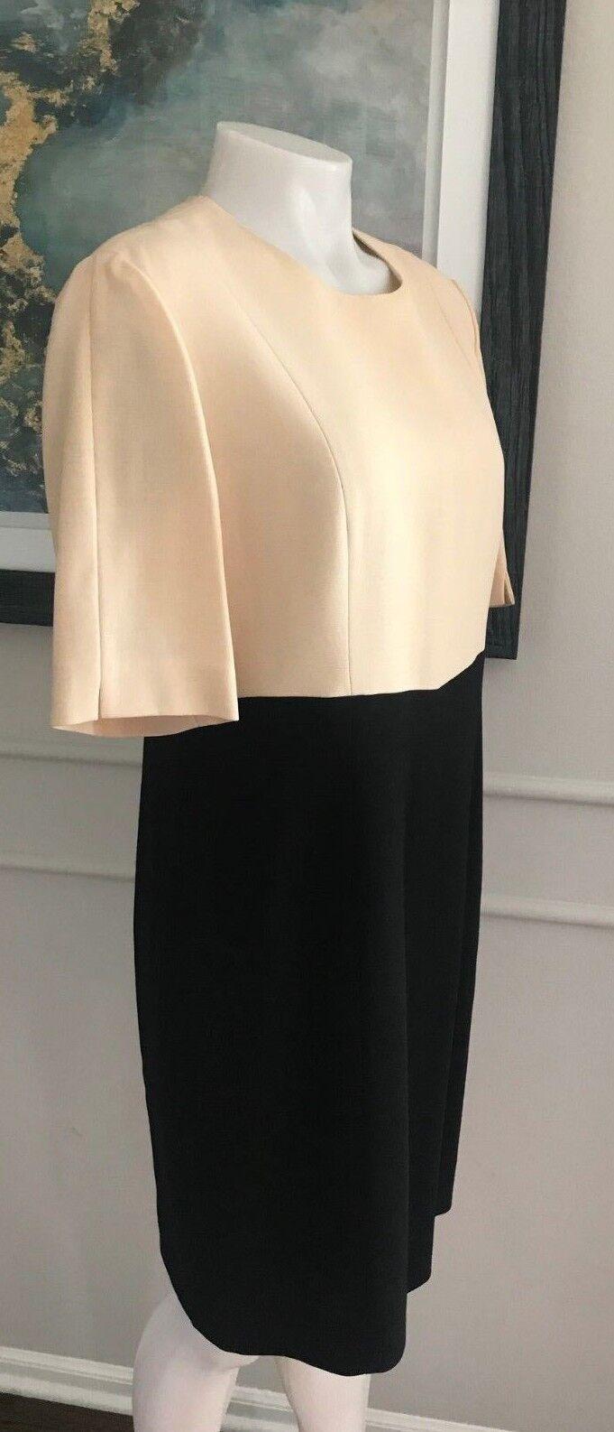 Louis Feraud  Woman's  Dress 100% Pure New Wool  Sz 10  Elegant