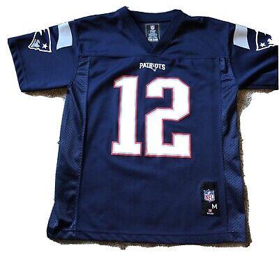 Kids Youth Medium 10-12 New England Patriots Tom Brady NFL Jersey   eBay