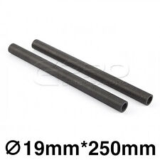 """CGPro 8"""" Inch 200mm High Strength 19mm Carbon Fibre Dragon Rods (1 Pair)"""
