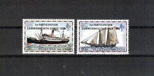 Îles Falkland Michel Numéro 355 - 356 Cachet (europe: 5412)-n Michelnummer 355 - 356 Postfrisch (europa:5412) Afficher Le Titre D'origine