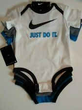 Nike 3pcs bodysuit onesies new with tag 6-9M