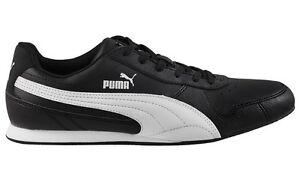 Puma-fieldster-Zapatos-Hombre-Negro-Zapatillas-Casuales