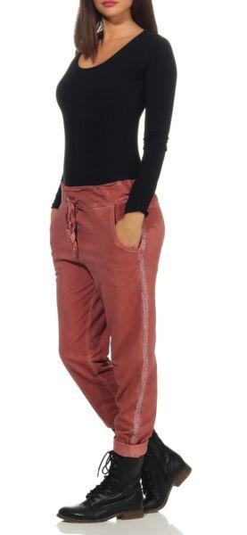 Damen Jogginghose mit Gummizug – moderne Sweathose – JOGPANTS – 97% BW  GR 36-40