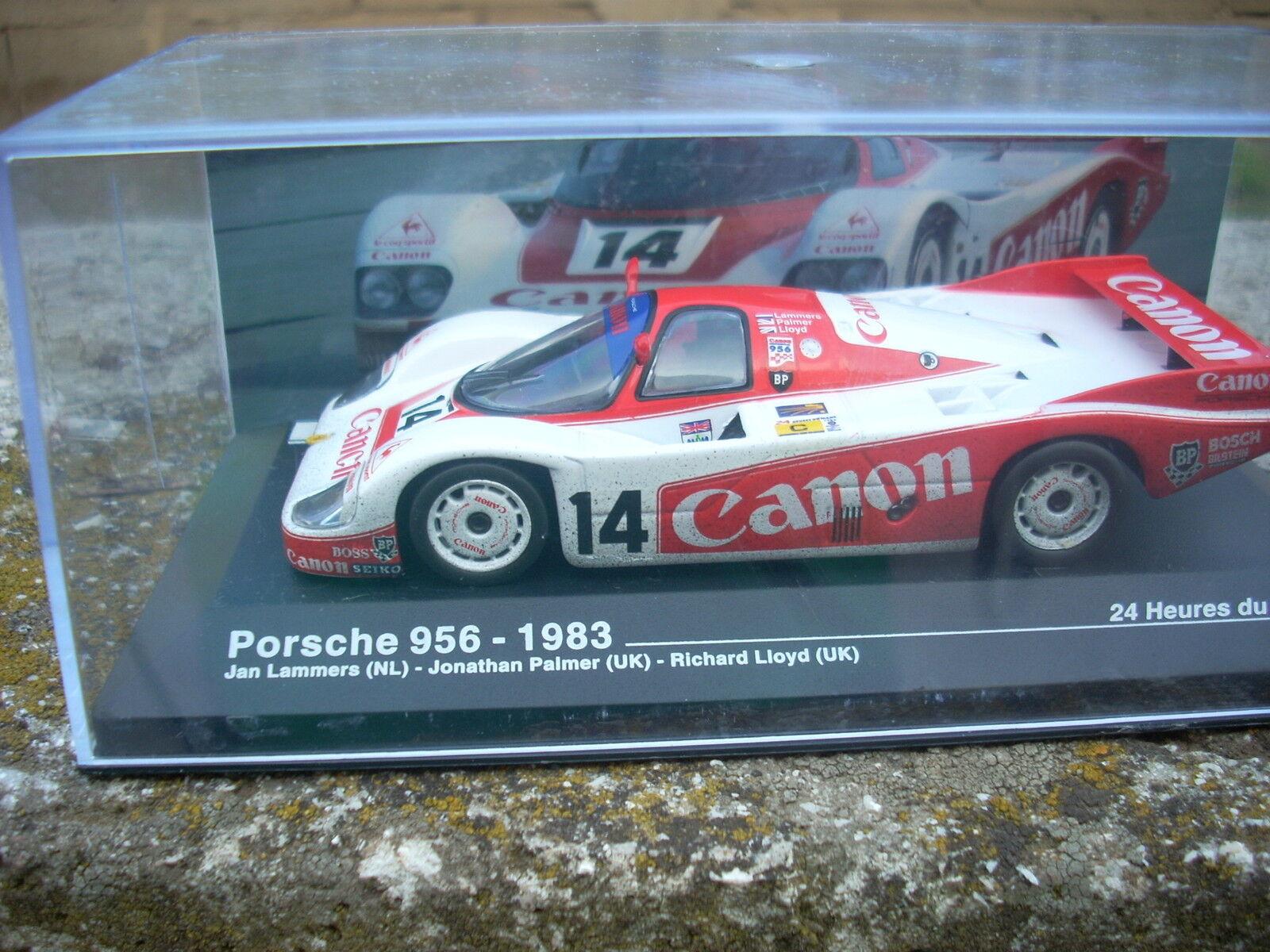 LE MANS PORSCHE 956 1983 LAMMERS PALMER PALMER PALMER LLOYD ESCALA 1\43  el mas reciente
