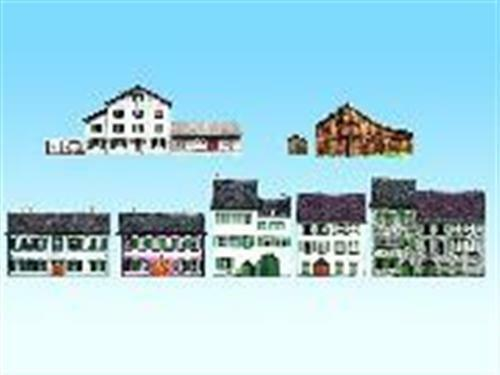 Noch 60308 Alpine Countries 8 Typical Buildings