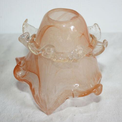 Stilarts Lampenglas Jugendstil Ersatzglas Lampenschirm Lampe Ersatzschirm Blüten
