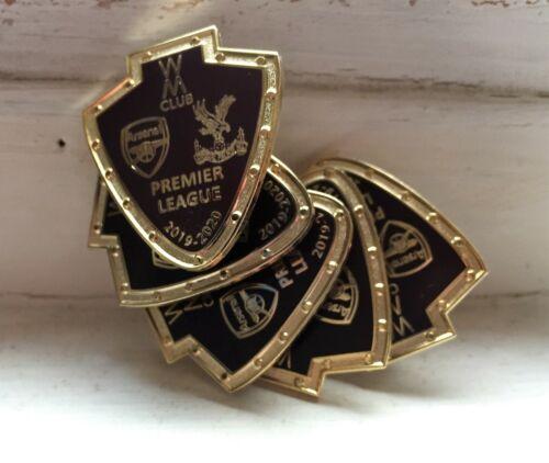 2019 OFFICIAL P//League Arsenal vs Crystal Palace Metal /& Enamel WM Club Badge